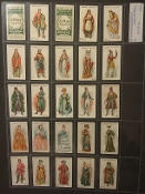 OGDENS - BRITISH COSTUMES FROM 100BC TO 1904
